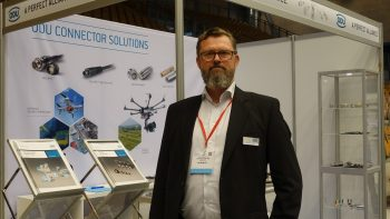 ODU Denmark, which supplies connectors to drones, was an exhibitor at TUS Nordics 2017.