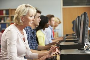 Workforce retraining older student