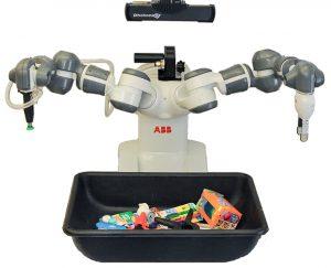 Dex-Net 4.0 robot grasping