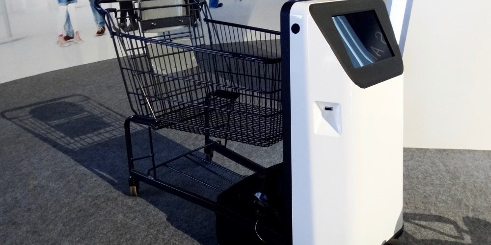 Panasonic Smart Cart Helps You Take A Load Off Robotics Business