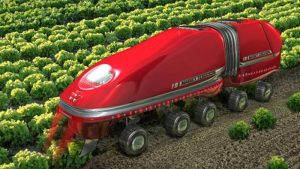 Agriculture automation requires economies of scale.