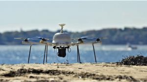 Police drones such as CyPhy Works' PARC are becoming more popular.