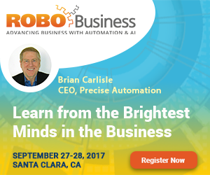 Brian Carlisle will be speaking at RoboBusiness 2017