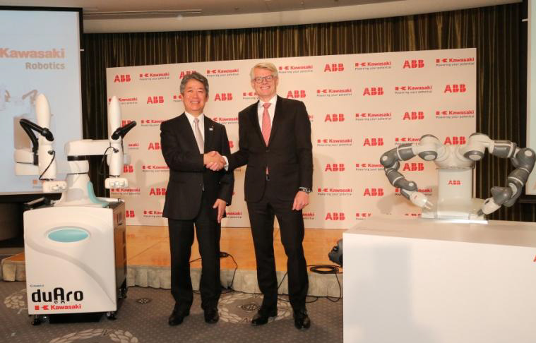 ABB Teams With Kawasaki on Cobot Standards, Releases New Robot