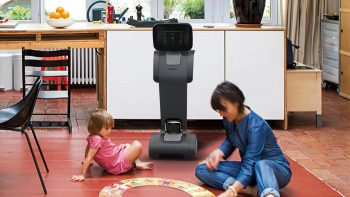 Personal robot temi is designed for all ages.