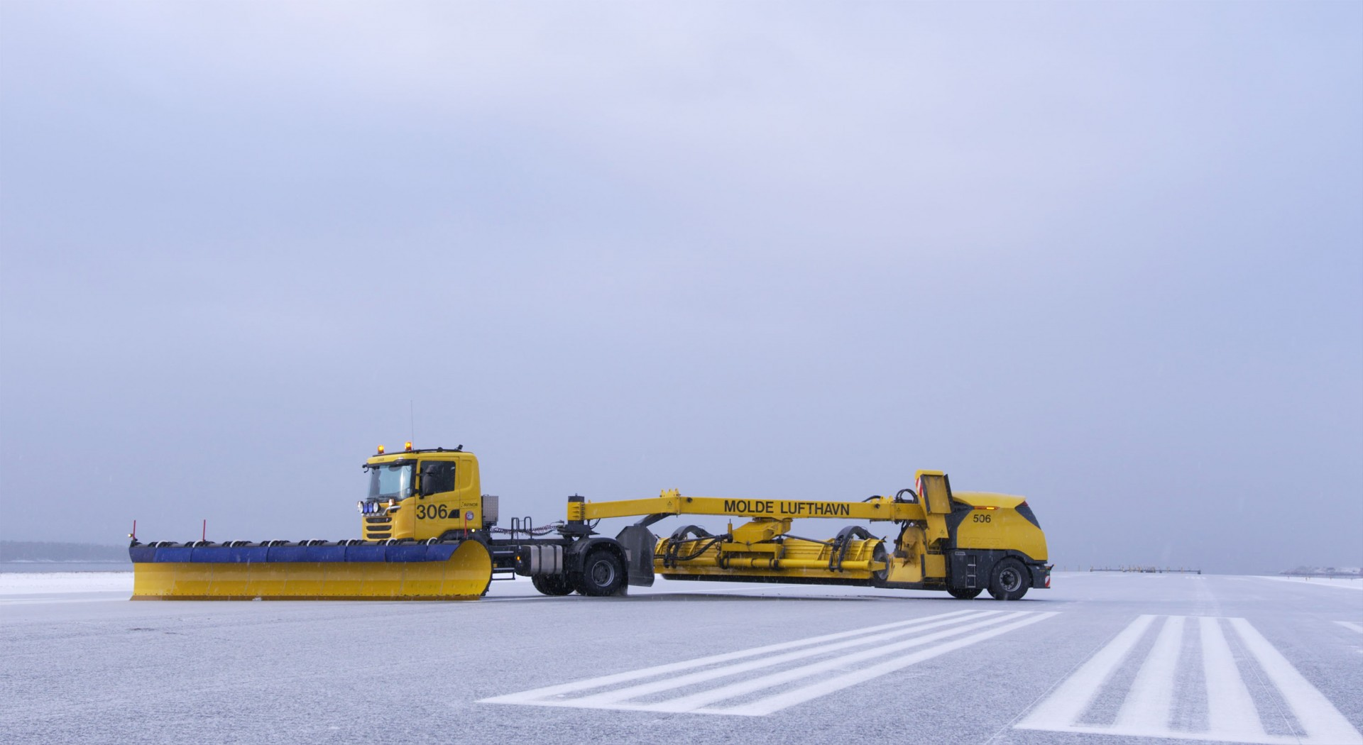 Autonomous Snowplow Gang Shows Promise at Finnish Airport, but Safety Still a Speedbump