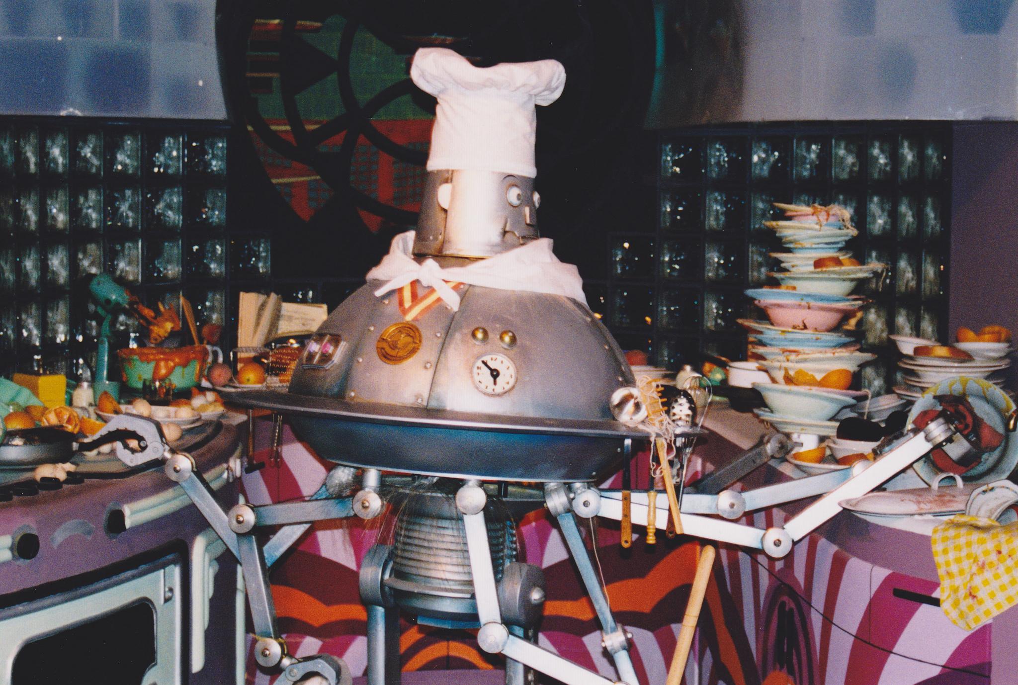 Food Robots on the Menu of CMU-Sony Collaboration