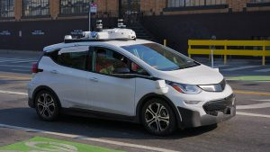 GM Cruise self-driving car second quarter report