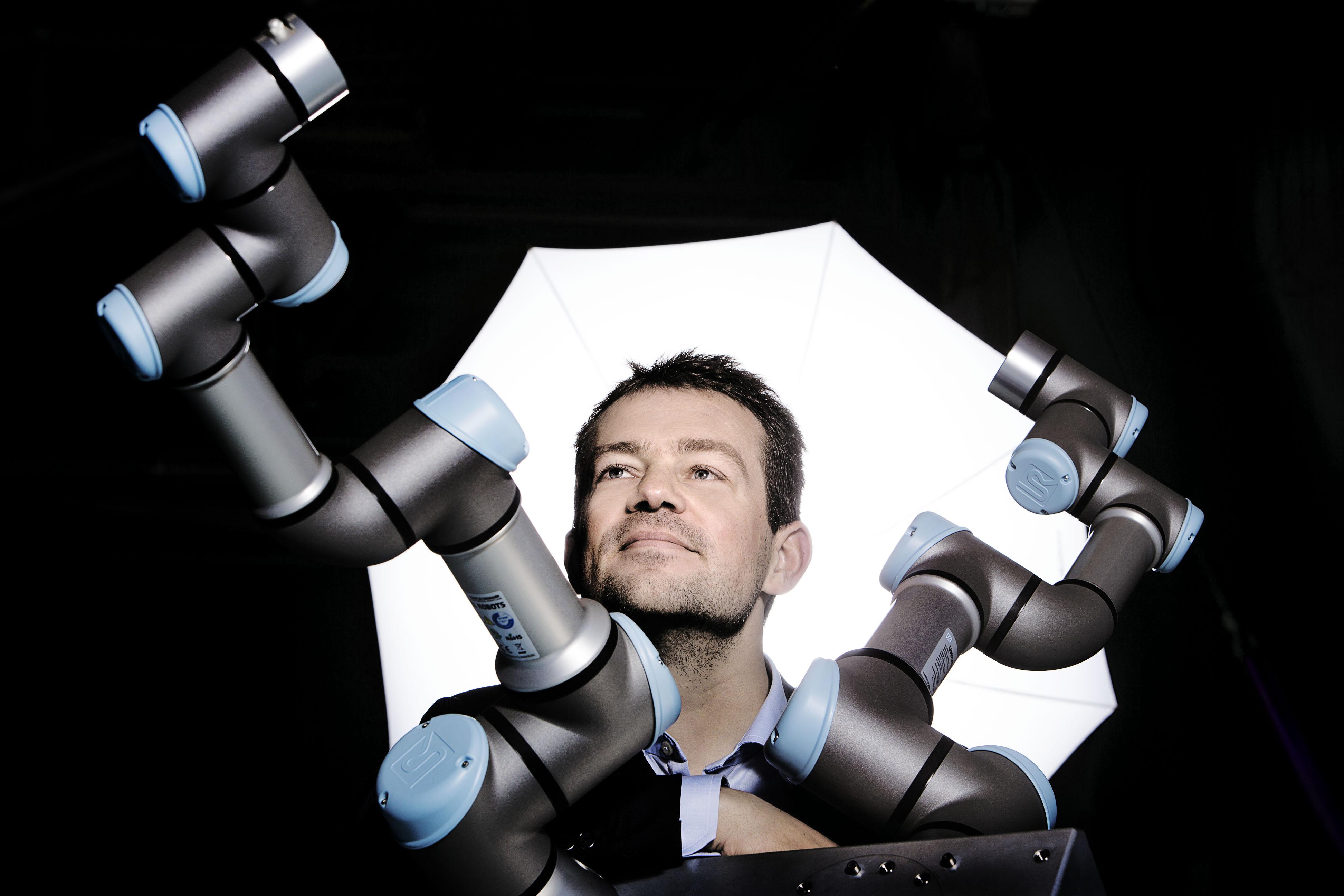Esben Ostergaard, CTO of Universal Robots, is a winner of the 2018 Engelberger Award