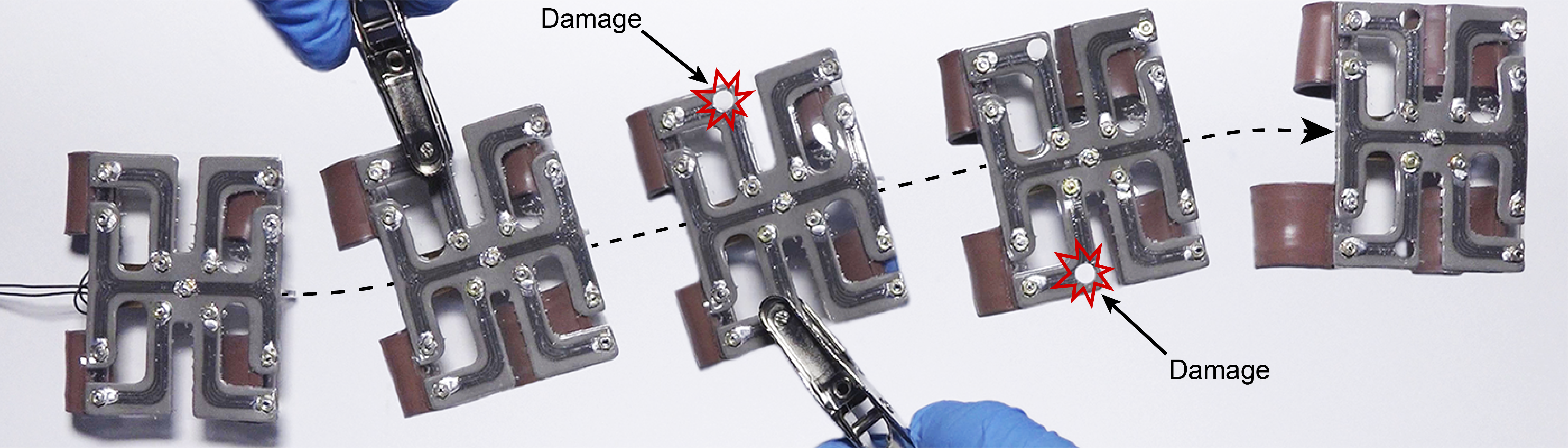 Researchers Create Self-Healing Material for Biologically-Inspired Robots