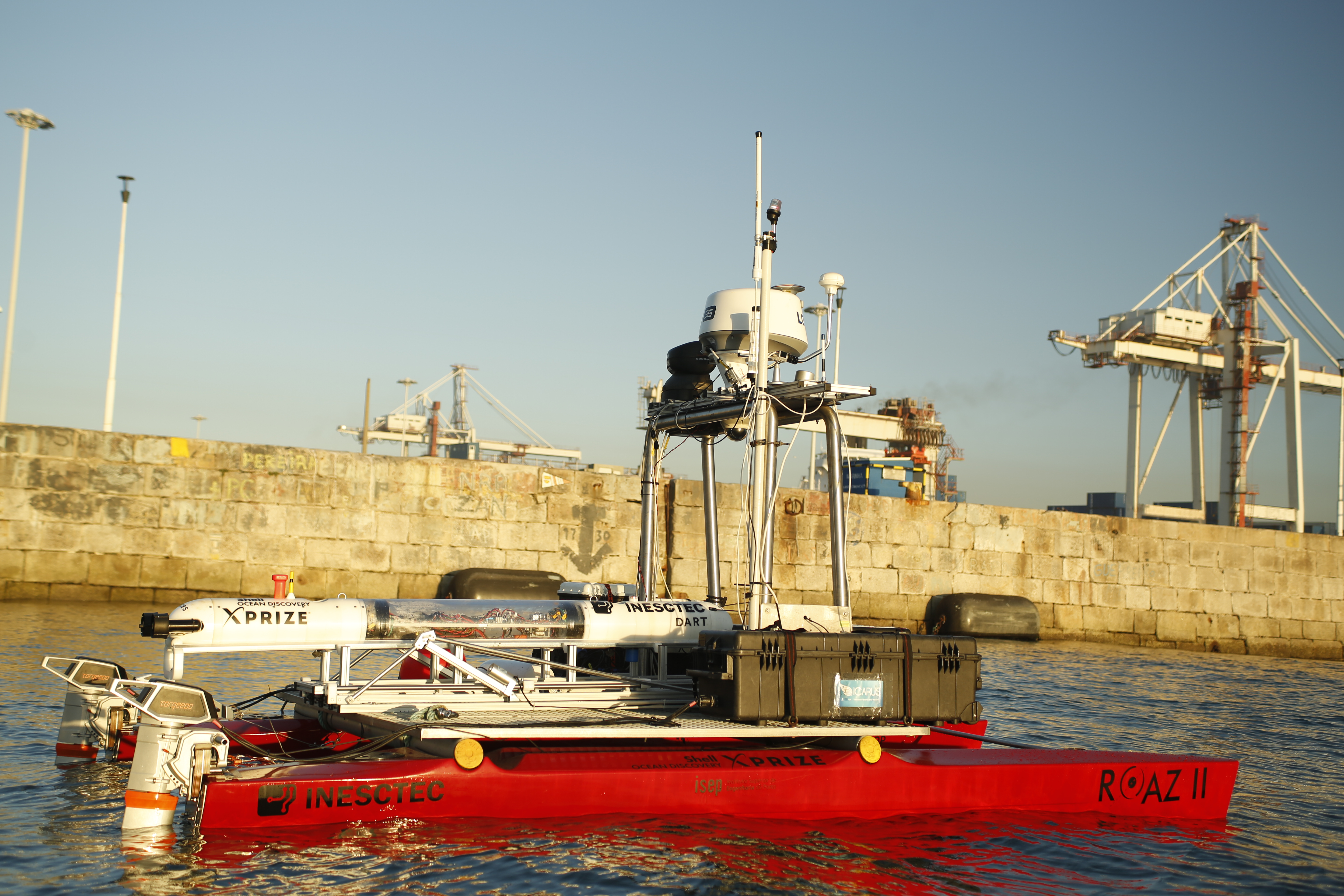 Shell Ocean Discovery XPRIZE Finalists Sail to Southern Greece for $7M