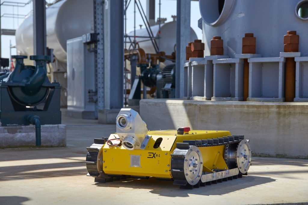 IDS Provides 'Robot Eyes' for Potentially Explosive Environments
