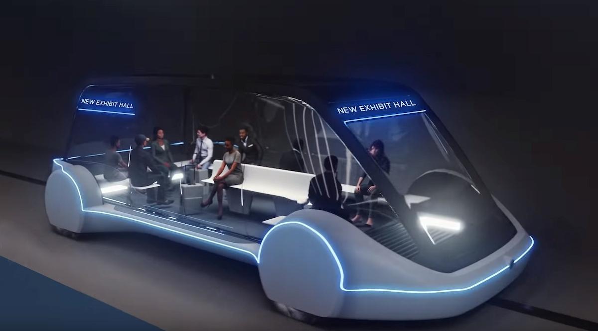 Las Vegas Convention Center transportation system rendering