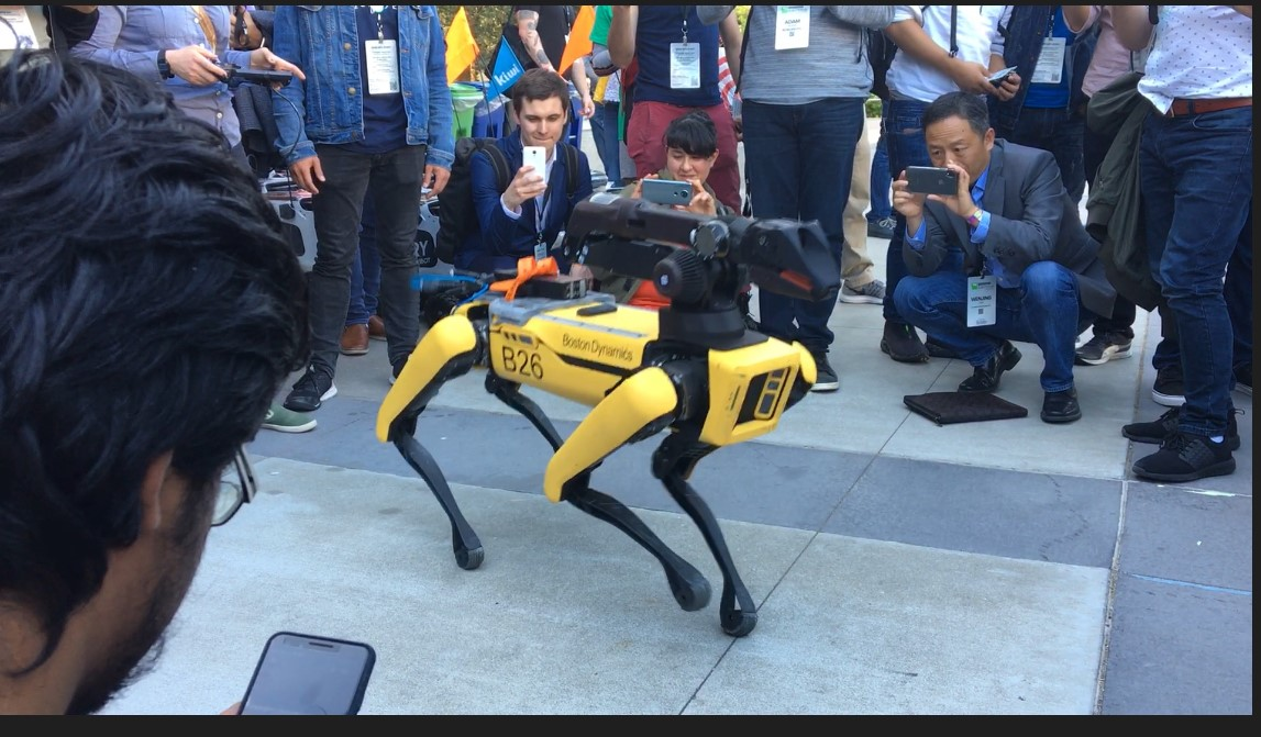 SpotMini TechCrunch Boston Dynamics