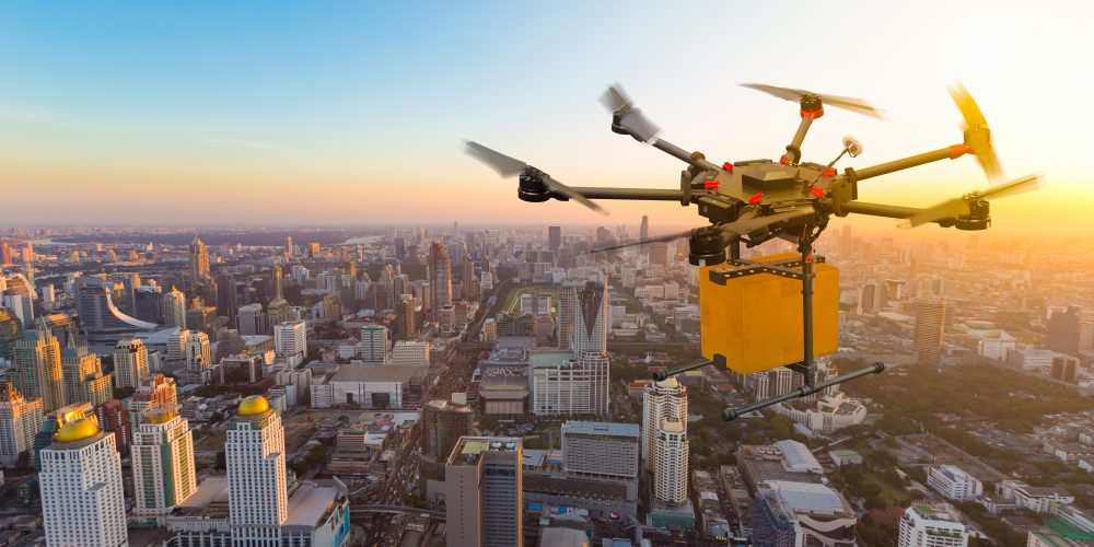 Drone Cargo Delivery Will Require Changes to Propulsion Systems