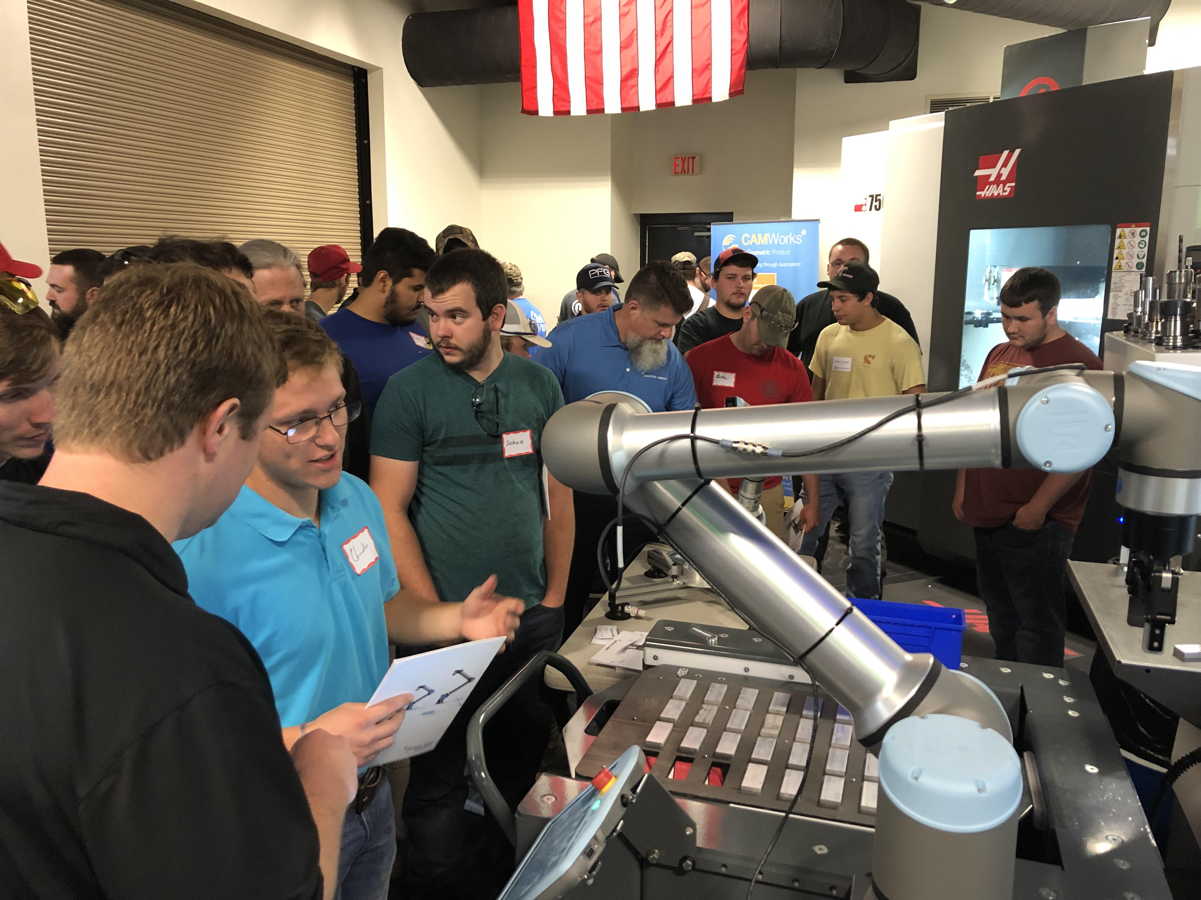 Phillips Universal Robots Haas Demo Day