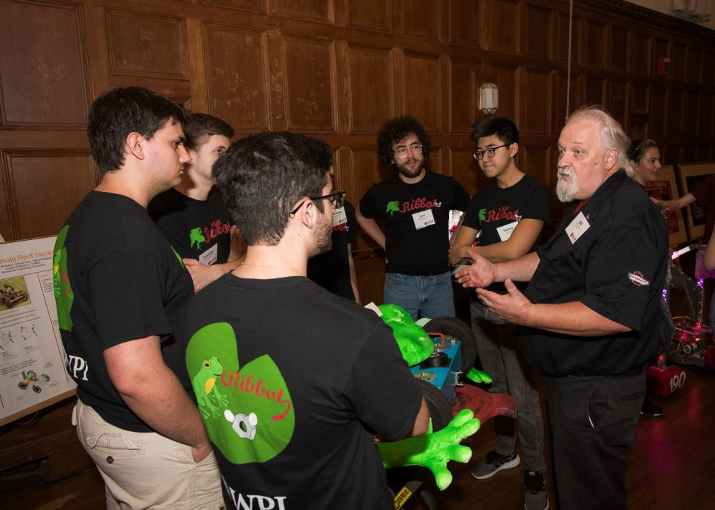 WPI Symposium Challenges Robot Industry, Academics to Come Together