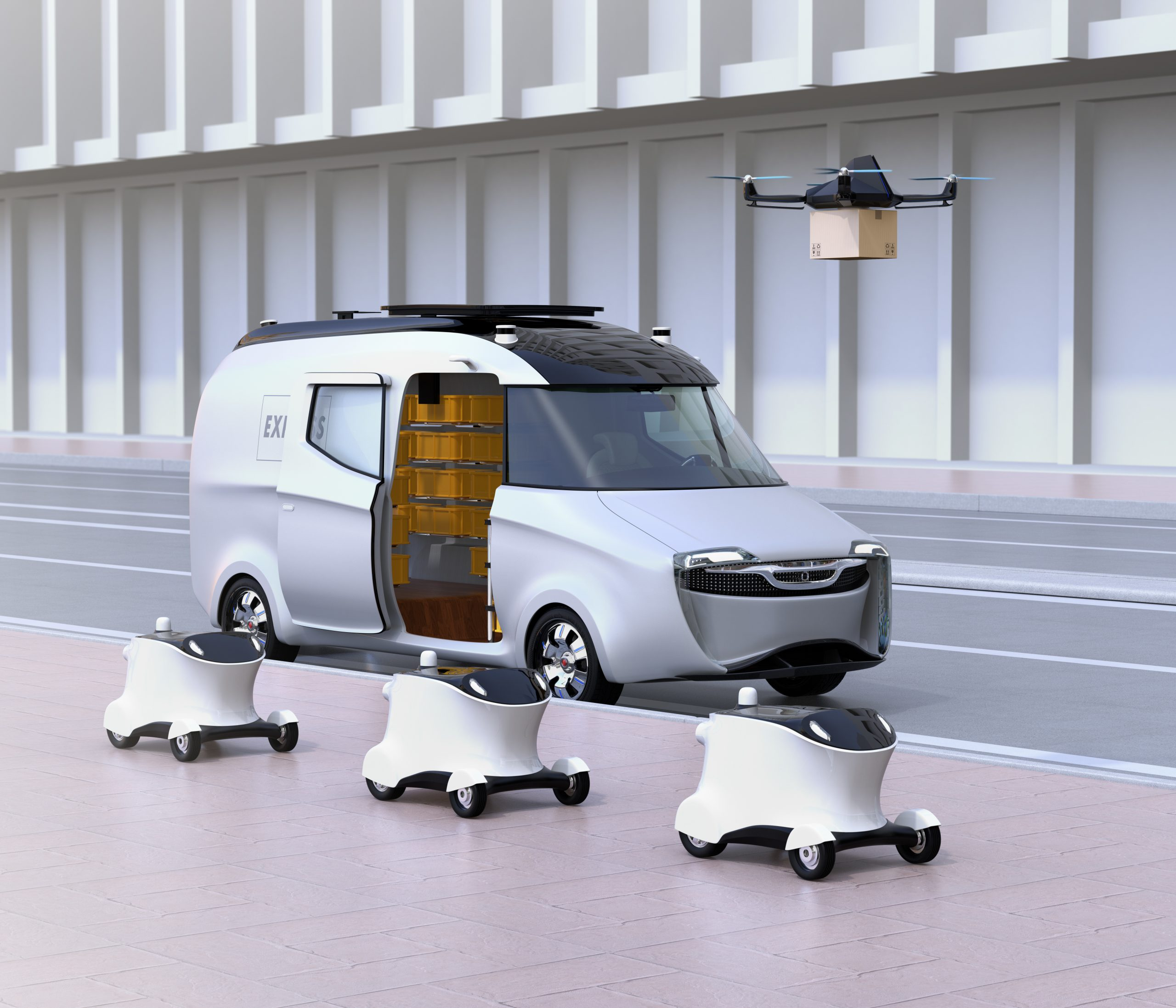 last-mile delivery robots