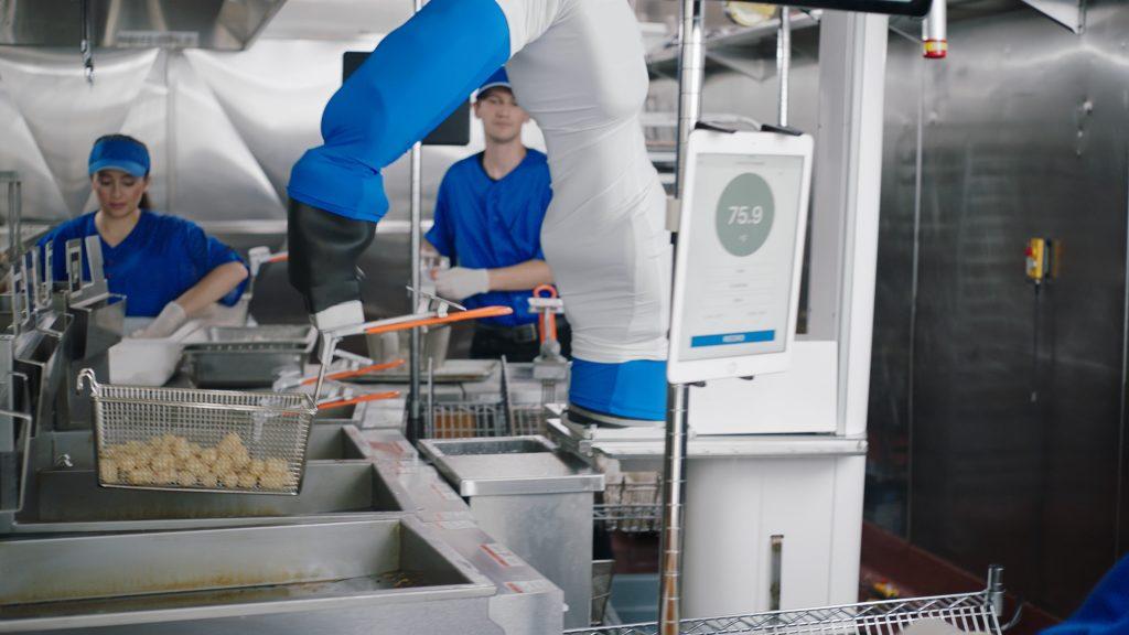 Flippy Miso Robotics deep fryer