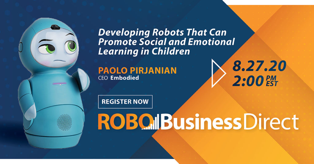 Digital Event – Developing Robots That Can Promote Social-Emotional Learning in Children