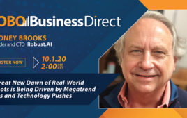 Rodney Brooks to Analyze Mega Trends and Robotics in RoboBusiness Direct Keynote
